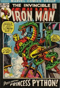 Cover Thumbnail for Iron Man (Marvel, 1968 series) #50