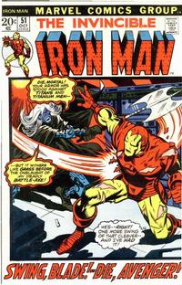 Cover Thumbnail for Iron Man (Marvel, 1968 series) #51 [Regular Edition]