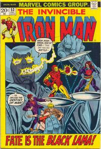 Cover Thumbnail for Iron Man (Marvel, 1968 series) #53 [Regular Edition]