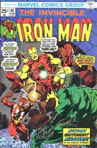 Cover for Iron Man (Marvel, 1968 series) #68