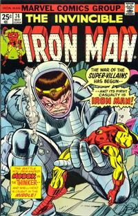 Cover Thumbnail for Iron Man (Marvel, 1968 series) #74 [Regular Edition]