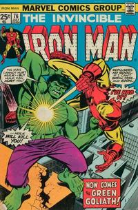 Cover Thumbnail for Iron Man (Marvel, 1968 series) #76