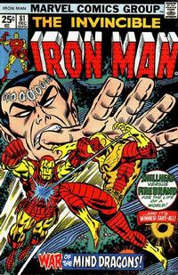 Cover Thumbnail for Iron Man (Marvel, 1968 series) #81 [Regular Edition]