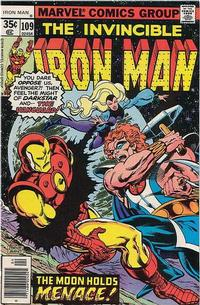 Cover for Iron Man (1968 series) #109