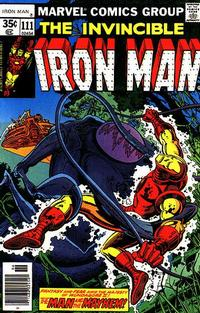 Cover Thumbnail for Iron Man (Marvel, 1968 series) #111