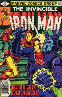 Cover for Iron Man (Marvel, 1968 series) #129 [Direct Edition]