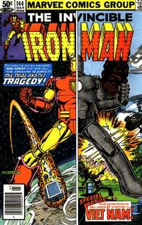 Cover for Iron Man (Marvel, 1968 series) #144