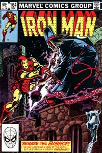 Cover for Iron Man (Marvel, 1968 series) #164 [Direct Edition]