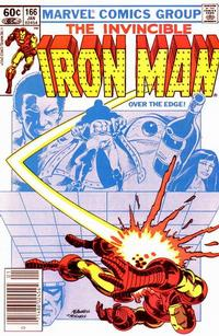 Cover for Iron Man (1968 series) #166 [Direct Edition]