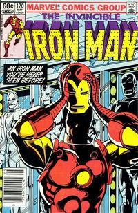 Cover for Iron Man (1968 series) #170 [Direct]