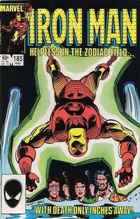 Cover for Iron Man (Marvel, 1968 series) #185 [Direct Edition]