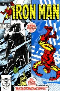 Cover Thumbnail for Iron Man (Marvel, 1968 series) #194 [Direct Edition]
