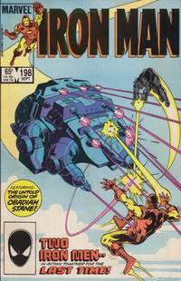 Cover Thumbnail for Iron Man (Marvel, 1968 series) #198 [Direct Edition]