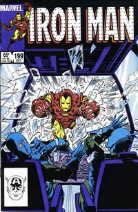 Cover for Iron Man (Marvel, 1968 series) #199 [Direct Edition]