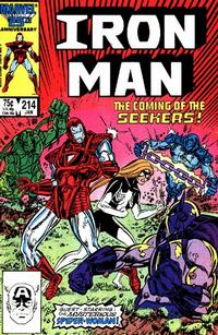 Cover Thumbnail for Iron Man (Marvel, 1968 series) #214 [Direct Edition]
