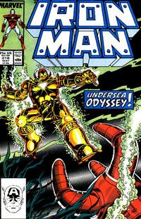 Cover for Iron Man (Marvel, 1968 series) #218 [Newsstand Edition]