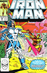 Cover for Iron Man (Marvel, 1968 series) #242 [Direct]