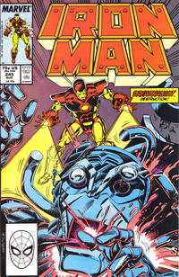 Cover for Iron Man (1968 series) #245 [Direct]