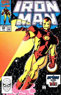 Cover for Iron Man (1968 series) #256