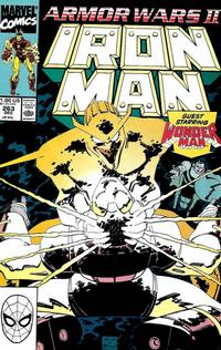 Cover for Iron Man (Marvel, 1968 series) #263