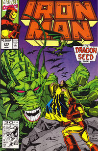 Cover Thumbnail for Iron Man (Marvel, 1968 series) #274