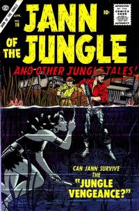 Cover Thumbnail for Jann of the Jungle (Marvel, 1955 series) #16