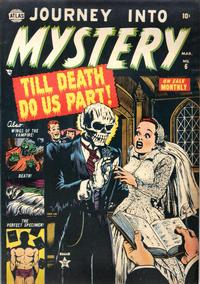 Cover for Journey into Mystery (Marvel, 1952 series) #6