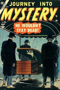 Cover for Journey into Mystery (Marvel, 1952 series) #18