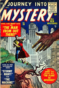 Cover Thumbnail for Journey into Mystery (Marvel, 1952 series) #26