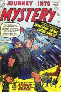 Cover Thumbnail for Journey into Mystery (Marvel, 1952 series) #52