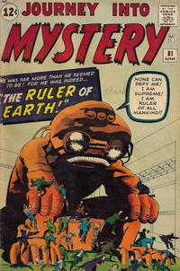 Cover Thumbnail for Journey into Mystery (Marvel, 1952 series) #81
