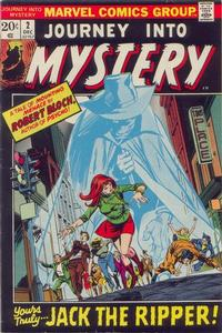Cover for Journey into Mystery (1972 series) #2