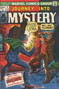 Cover for Journey into Mystery (1972 series) #6