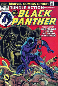 Cover Thumbnail for Jungle Action (Marvel, 1972 series) #10