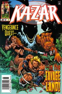 Cover Thumbnail for Ka-Zar (Marvel, 1997 series) #2 [Cover A - Newsstand Edition]