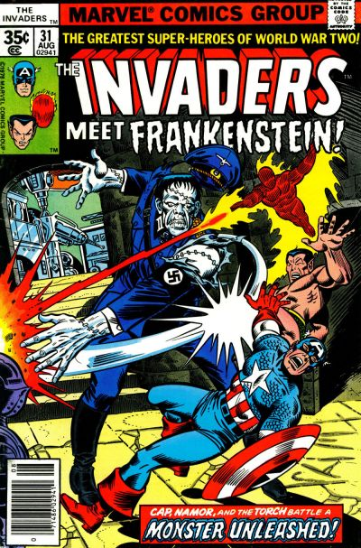 Cover for The Invaders (Marvel, 1975 series) #31
