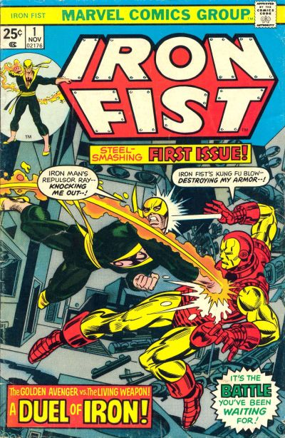 Cover for Iron Fist (Marvel, 1975 series) #1