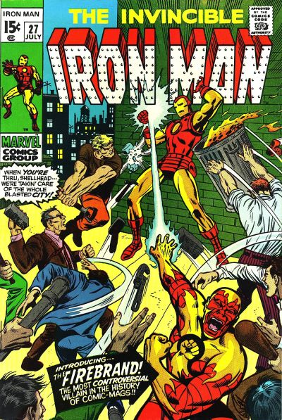 Cover for Iron Man (Marvel, 1968 series) #27