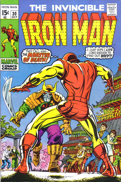 Cover for Iron Man (Marvel, 1968 series) #30
