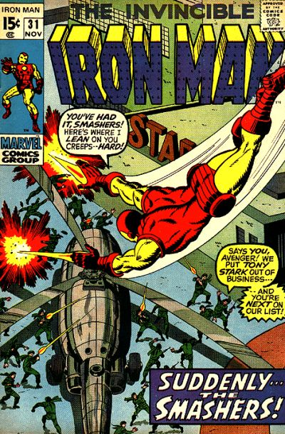 Cover for Iron Man (Marvel, 1968 series) #31
