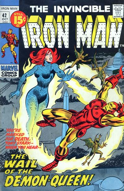 Cover for Iron Man (Marvel, 1968 series) #42