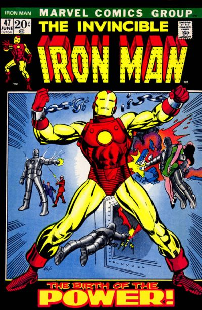 Cover for Iron Man (1968 series) #47