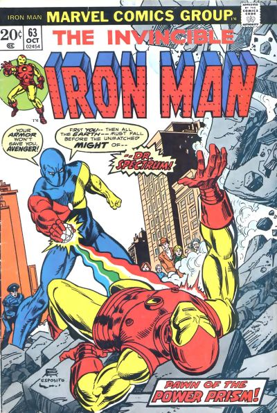 Cover for Iron Man (1968 series) #63