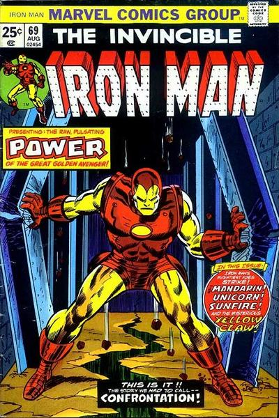 Cover for Iron Man (Marvel, 1968 series) #69