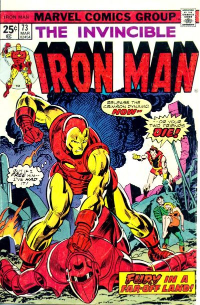 Cover for Iron Man (1968 series) #73