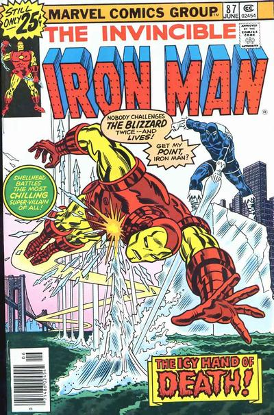 Cover for Iron Man (1968 series) #87 [25c Variant]