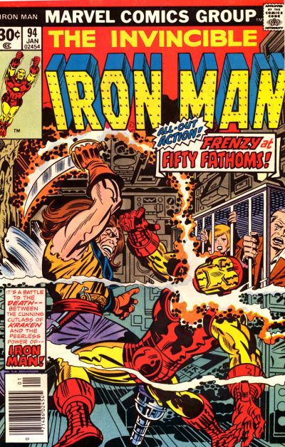 Cover for Iron Man (Marvel, 1968 series) #94 [Regular Edition]