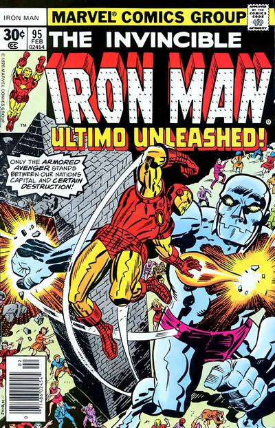 Cover for Iron Man (Marvel, 1968 series) #95