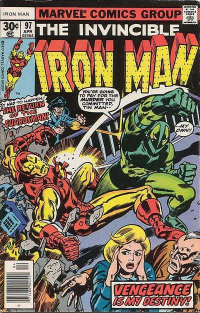 Cover for Iron Man (Marvel, 1968 series) #97