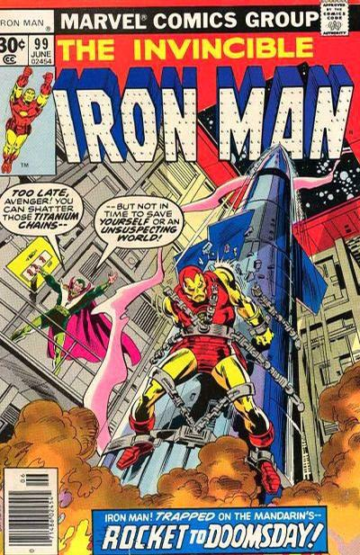 Cover for Iron Man (Marvel, 1968 series) #99 [Whitman Edition]